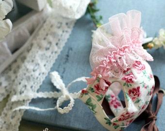 Aroa Bonnet - Designer Handmade Bonnet/hat for Pets / Free Shipping