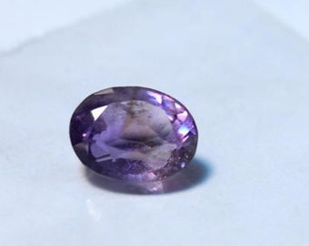 Natural Amethyst Faceted Cut Calibrated Oval shape loose semi precious gemstone size 12 x 8 mm #2089