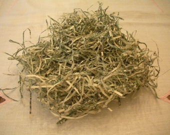 Small Bag of Shredded Cash Money for your Crafting or Spinning Pleasure