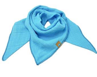 Muslin, triangular cloth, cloth, burb, scarf