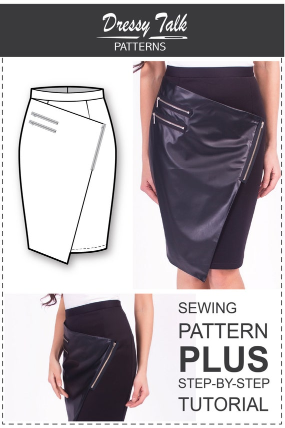 Wrap Skirt Pattern Sewing Tutorials Skirt Patterns Wrap