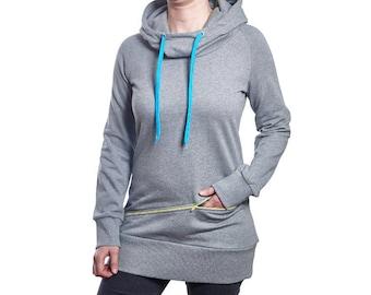 Hooded dress Juliana XC2