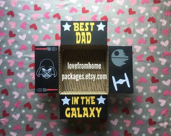 Star Wars Best Dad in the Galaxy Care Package Flaps
