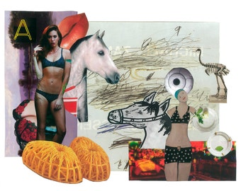 Horses Collage