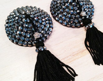 "Pasties / Nippies Burlesque Strass ""Glam Punk"""