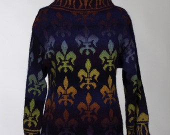 PATTERN for Fleur de Lis Sweater