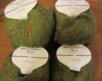 Alpaca Cashmere Tweed by Estelle with Cashmere