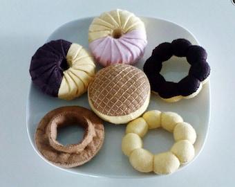 Felt Doughnuts Set II Patterns and Tutorials PDF Sewing Patterns (Instant Download)