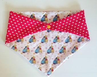SALE!!! Winnie the Pooh and Eeyore Cuddling Cuties Bandana