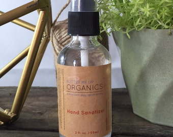 Organic Hand Sanitizer Triclosan Free