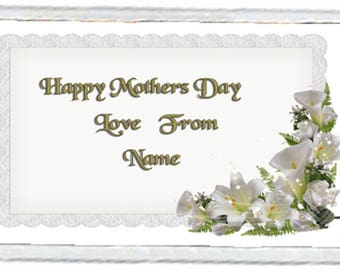 Mother's Day Acrylic Fridge Magnet Number 10