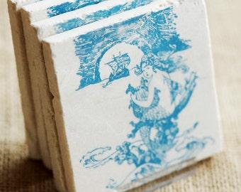 Mermaid Decor- Mermaid, Beach, Beach Decor, Beach Gift, , Mermaid Gift, Mermaid Print, Ocean Decor, Coastal Decor, Ocean Gift, Nautical