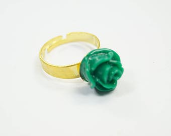 Ring Flower green