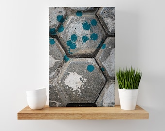 freckle // abstract photography canvas print // large abstract wall art // abstract art print // geometric architecture photography // bali