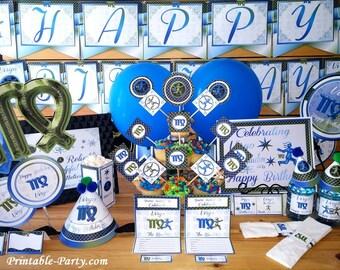 Virgo Zodiac Astrology Themed Party Decorations