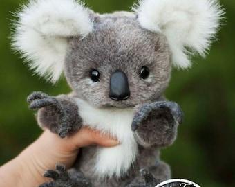 Koala Lula (made to order),  Teddy Bear Stuffed Animal Bear Soft Toys Artist Teddy Bears