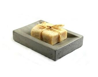 SALE: Concrete Soap Dish