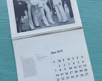 John & Yoko 1970 Calendar