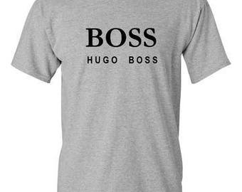 Hugo Boss Sports Grey T-Shirt