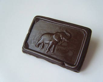Brooch of chocolate Cote d'Or ♥ ♥
