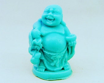 3D Laughing Buddha Soap Mold Flexible Silicone Mold For Handmade Soap Candle Candy Cake