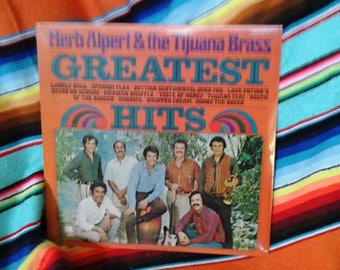 Unopened LP Herb Alpert & the Tijuana Brass Greatest Hits Sealed Album 1970 Jazz Mexican Taste of Honey Whipped Cream