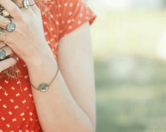 Fox Bracelet - Bracelet - Art Jewelry - Bronze Bracelet - Fox Jewelry - Designer Bracelet (7-3B)