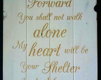 From This Day Forward Wedding Plaque