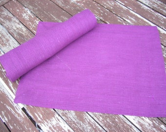 Light Lilac Linen Placemat, Handmade Table Linen, Linen Wedding Decor, Dining Supply, Home Textiles, Mitered Corners