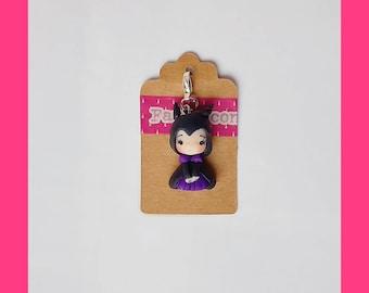 Only charm malefica maleficent cattiva doll dollina fanart clay fimo
