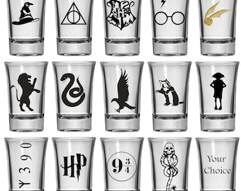 1.5oz Shot Glass | Harry Potter