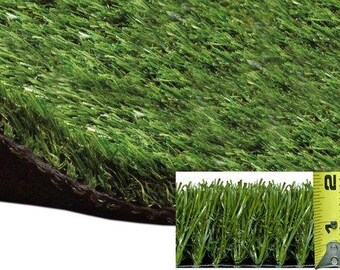 4' X 5' Premium Grass Mat  - Indoor / Outdoor ALL GREEN Artificial Grass. Availble in many sizes. FREE shipping!