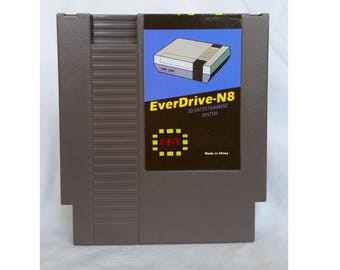 Everdrive N8 Nintendo NES + 8 gb Sd Card (Made in China)