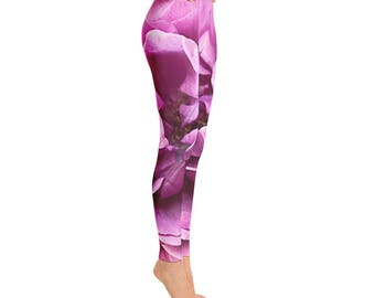 Pink Rose Leggings