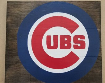 Chicago Cubs wall plaques