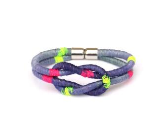 Colorful Neon Pop Bracelet For Women