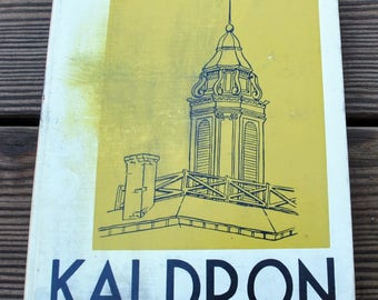 Kaldron 1955 Yearbook Allegheny College, Meadville Pennsylvania Year Book