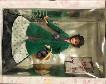 NRFB Barbie as Eliza Doolittle in My Fair Lady FLOWER GIRL box Audrey Hepburn Hollywood Legend Collector Ed ~ 15498