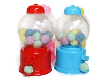 Gumball machine BATH BOMBS, bath bombs for kids, mini bath bombs, party favors, kids bath bomb set, gift under ten, rainbow bath bombs, kids