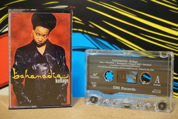 Kollage by Bahamadia Vintage Cassette Tape