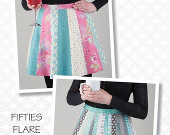 Fifties Flare Apron Pattern by Atkinson Designs