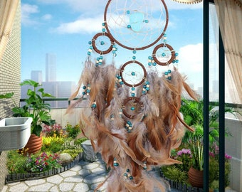Dream Catcher Large Brown Dream Catcher Traditional Style New