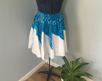 Vintage Western Square Dance Skirt SMALL by Banjo