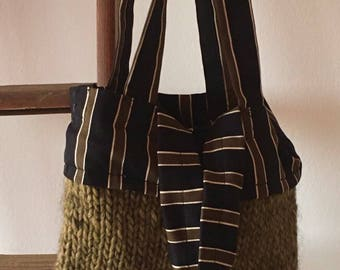 Handmade Merino Wool bag