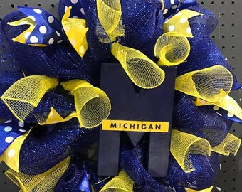 Michigan Wreath