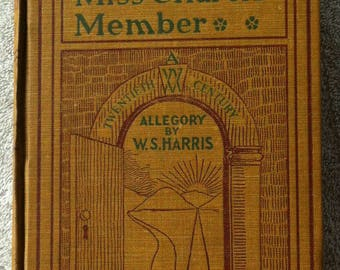 Mr. World and Miss Church Member, Hardback book, W.S. Harris