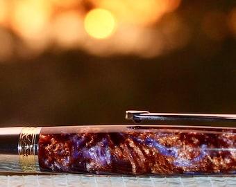 Supernova - handmade twist pen in the Cosmos range.