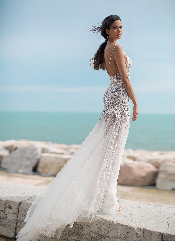 Flower lace wedding dress strap wedding dress coctail dress