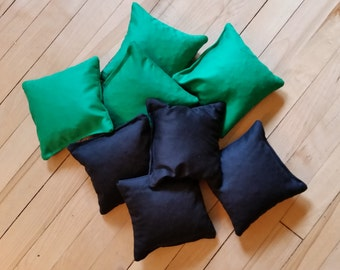 Regulation Cornhole Bags, Beanbags for Beanbag Toss Game, Outdoor Wedding Game, Corn Hole