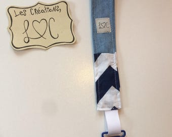 Sailor style pacifier